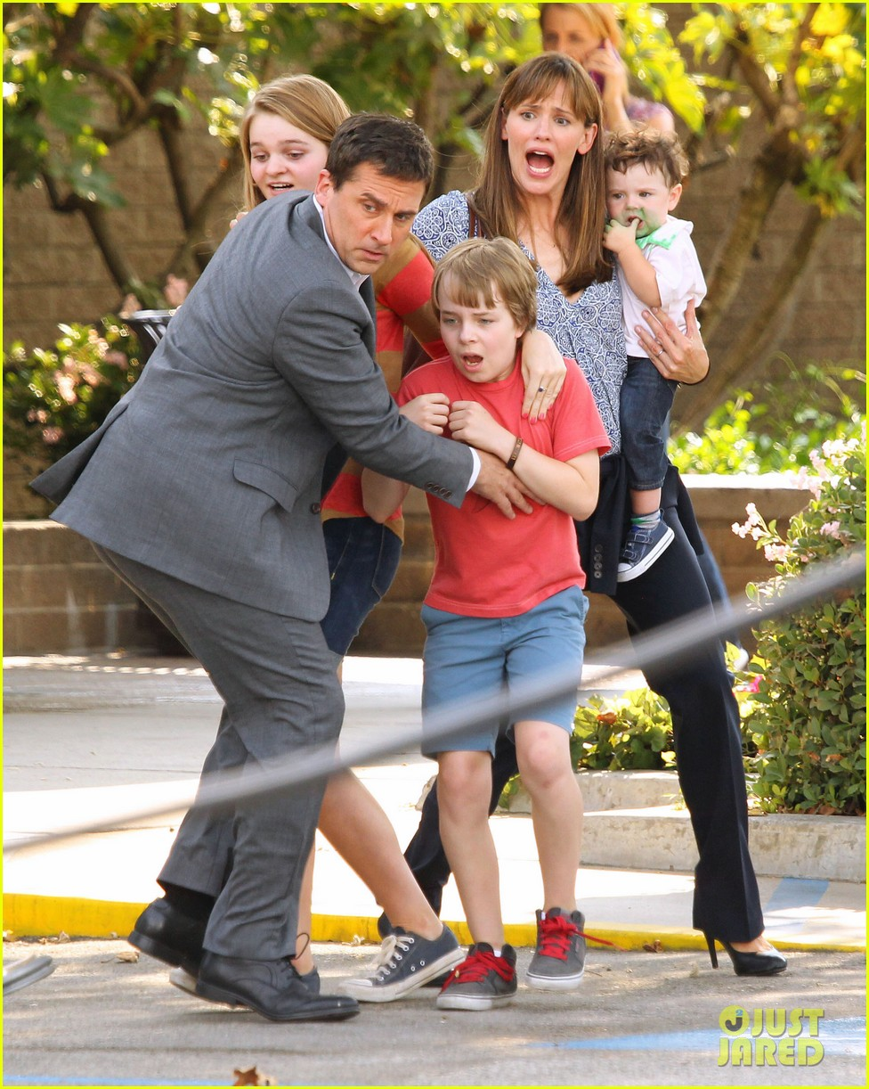 jennifer garner steve carell family freakout for alexander 282938766