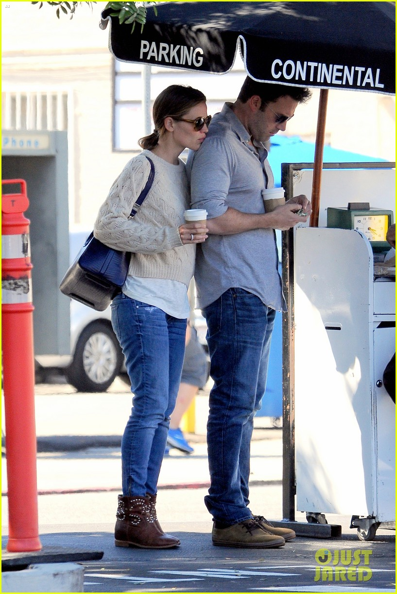 jennifer garner ben affleck share romantic weekend lunch 022932289
