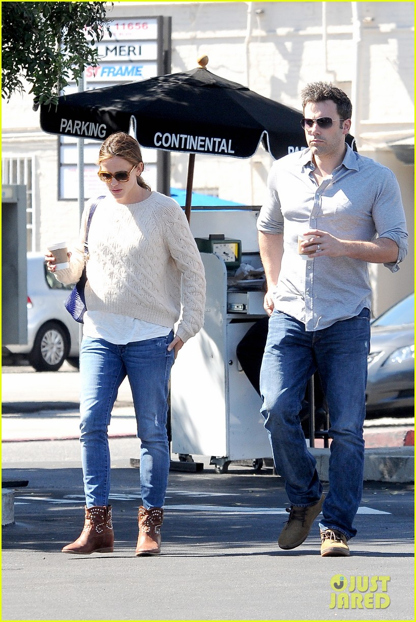 jennifer garner ben affleck share romantic weekend lunch 052932292
