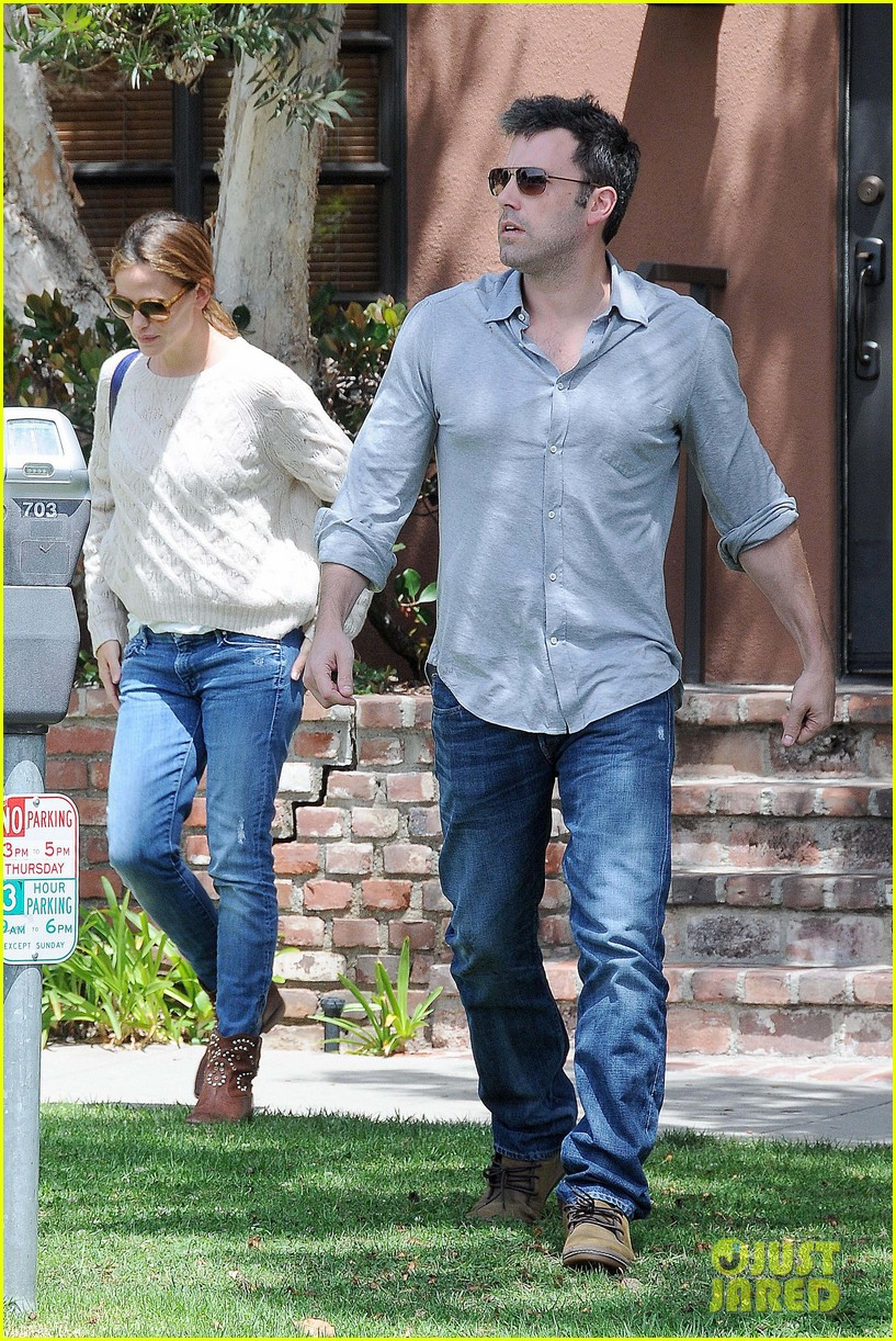 jennifer garner ben affleck share romantic weekend lunch 082932295