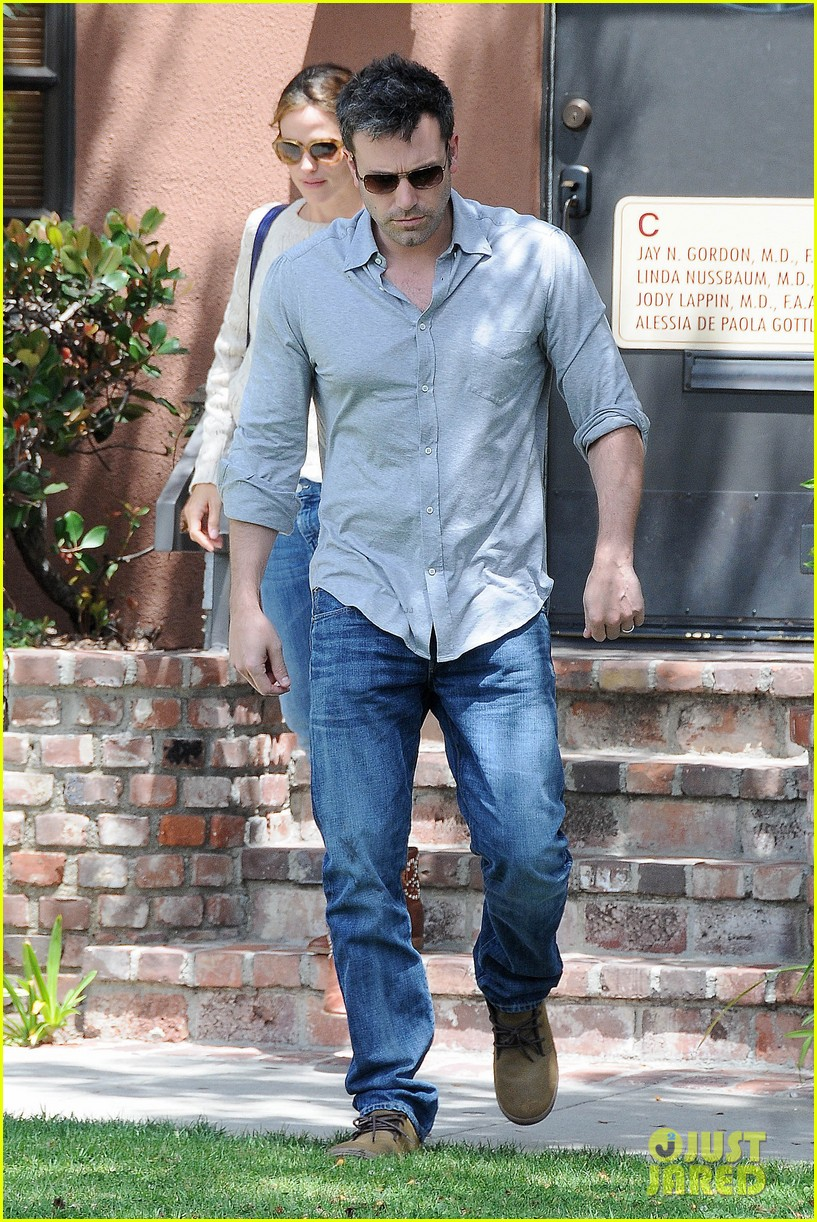 jennifer garner ben affleck share romantic weekend lunch 122932299