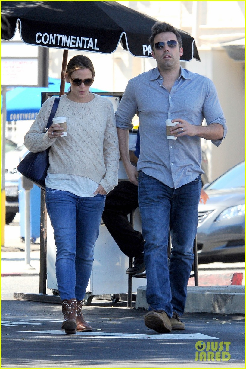 jennifer garner ben affleck share romantic weekend lunch 242932311