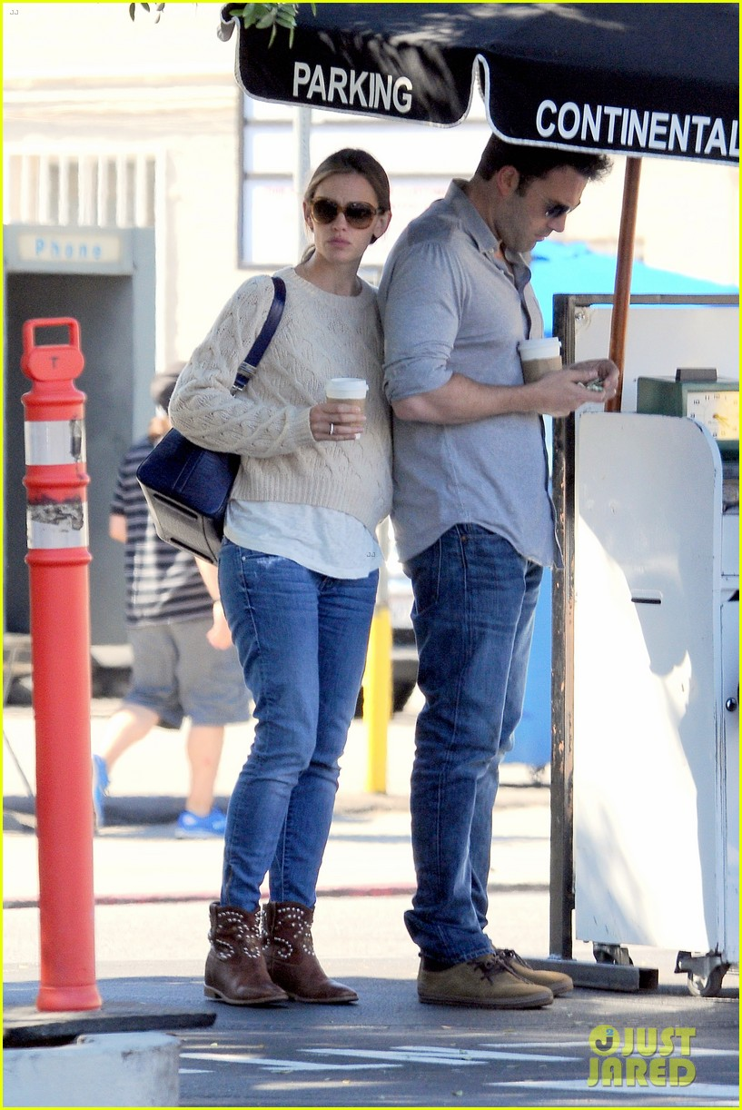 jennifer garner ben affleck share romantic weekend lunch 272932314