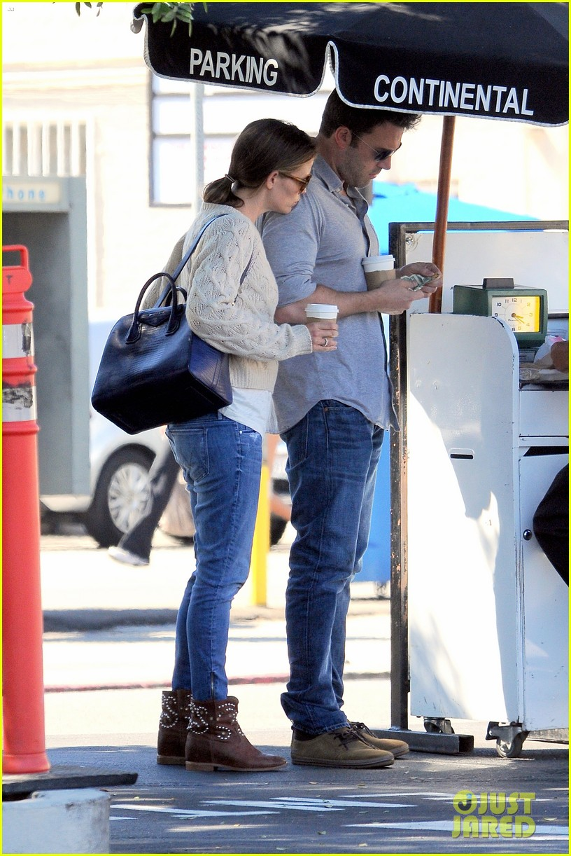 jennifer garner ben affleck share romantic weekend lunch 292932316