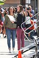 jennifer garner preps for work on imagine set with