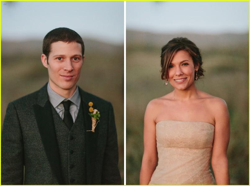 Kiele Sanchez and zach gilford wedding
