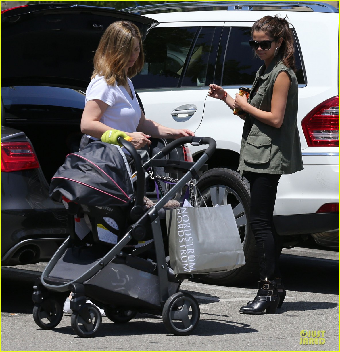 selena gomez bonds with baby sister gracie 332927466