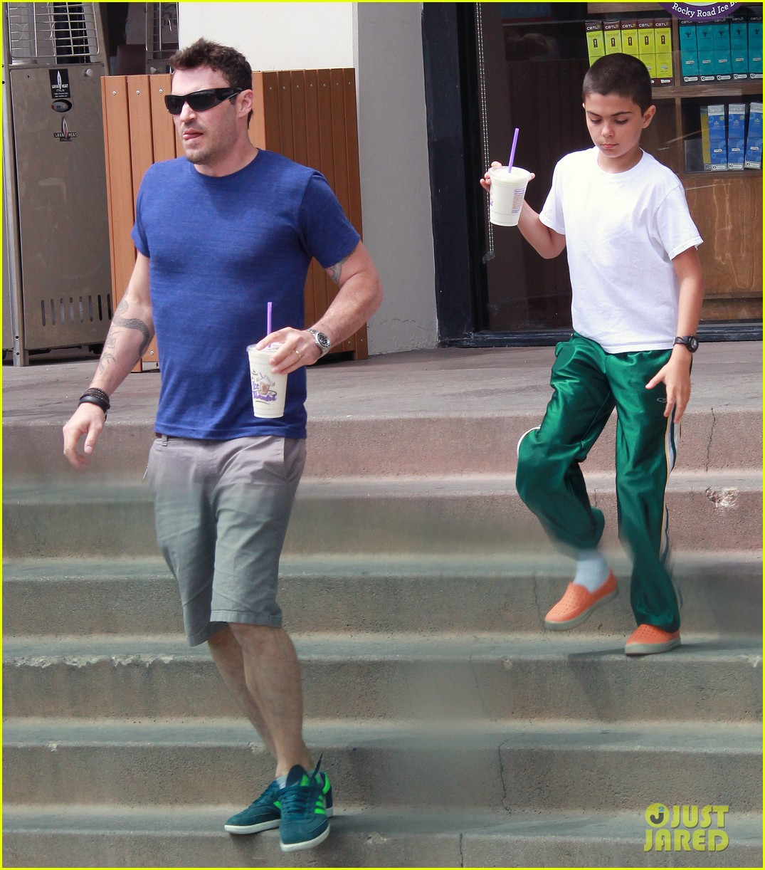 brian austin green quality time with kassius in hollywood 042934056