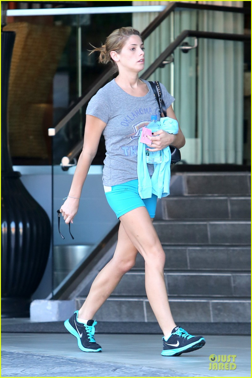 ashley greene works out twice in one day 092927098