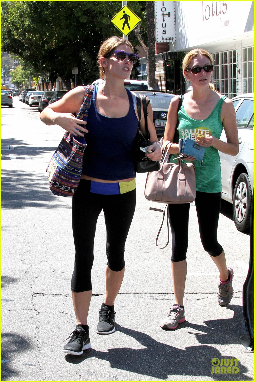 ashley greene works out twice in one day 212927110