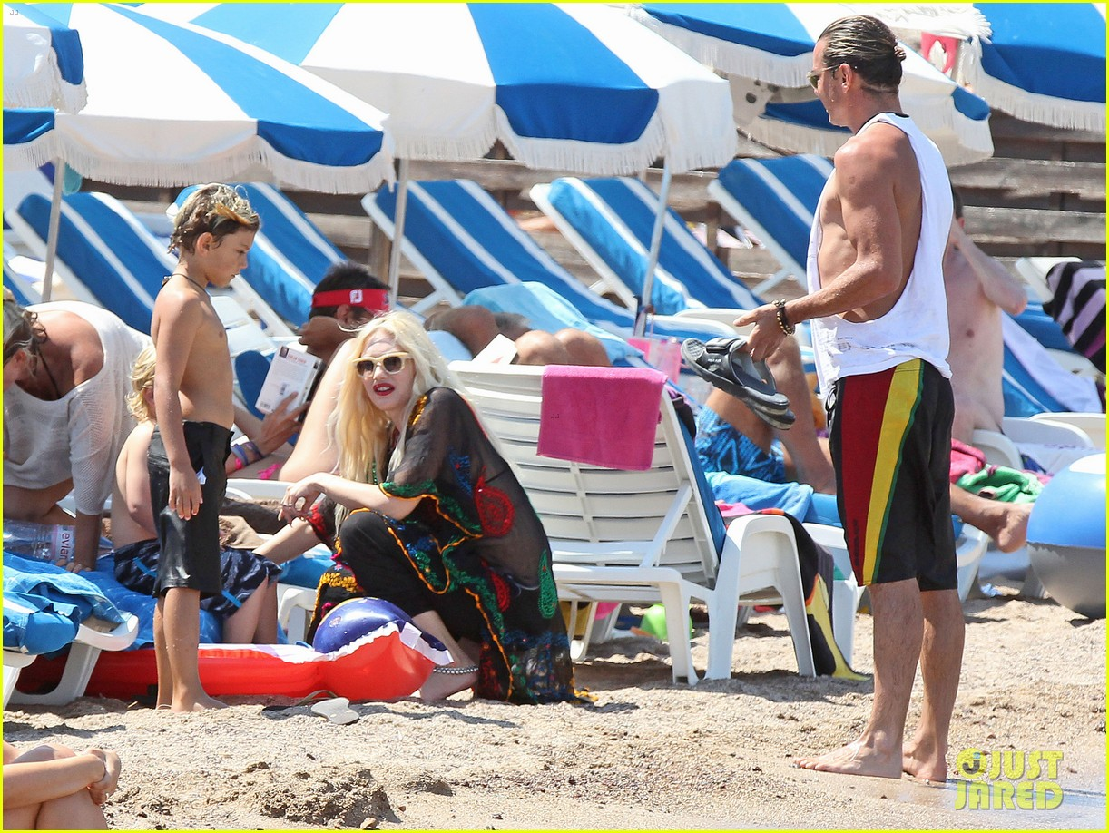 gwen stefani gavin rossdale back after paris vacation 06