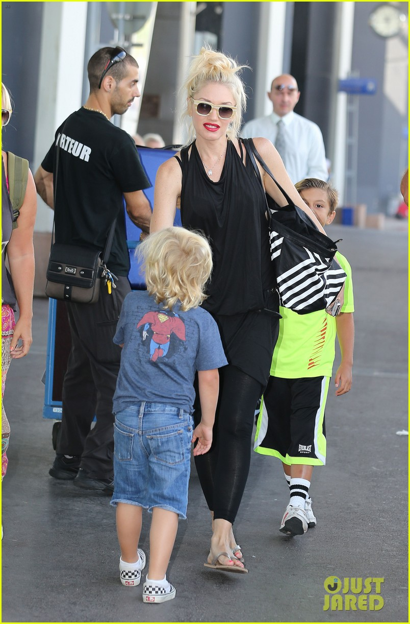 gwen stefani gavin rossdale back after paris vacation 222932956