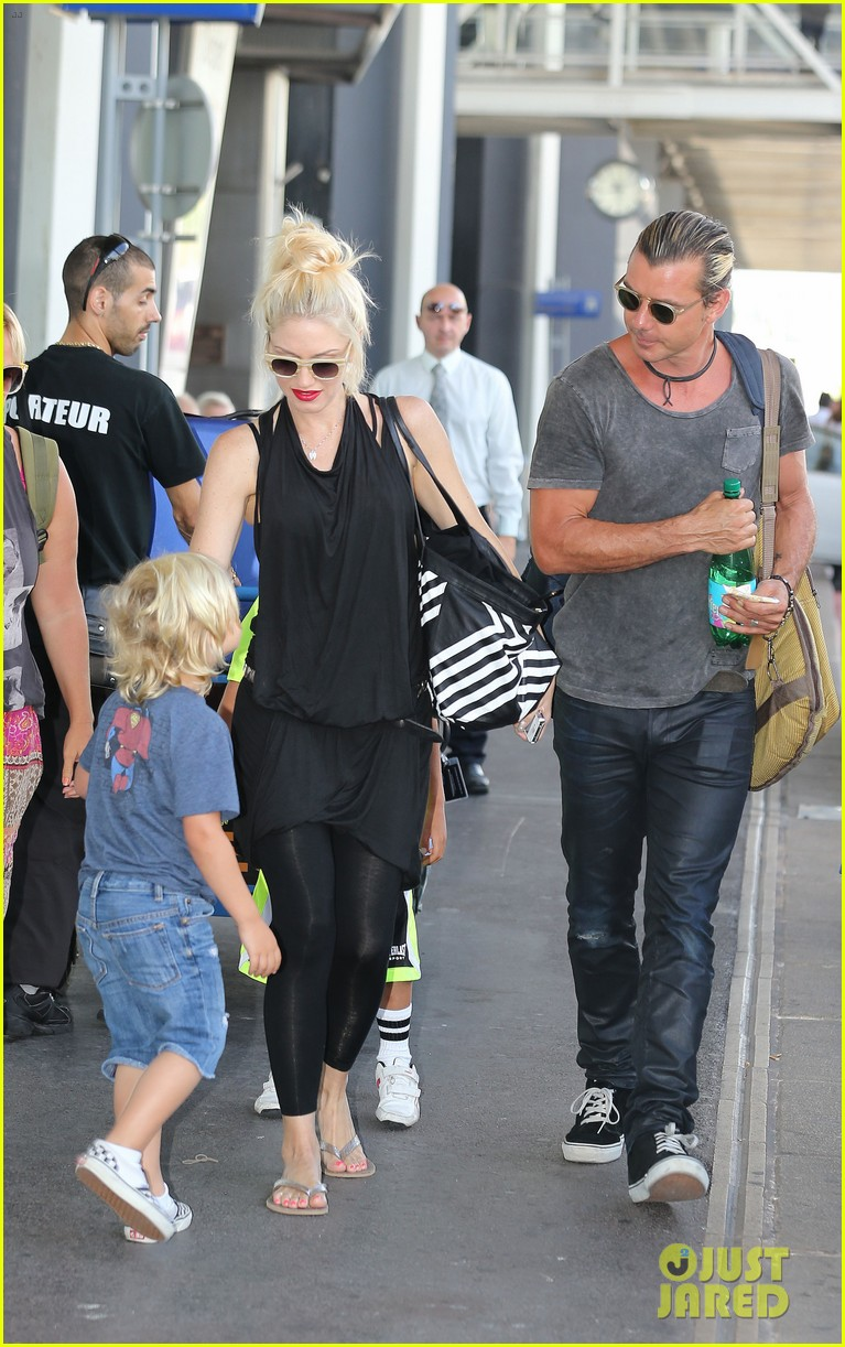 gwen stefani gavin rossdale back after paris vacation 24