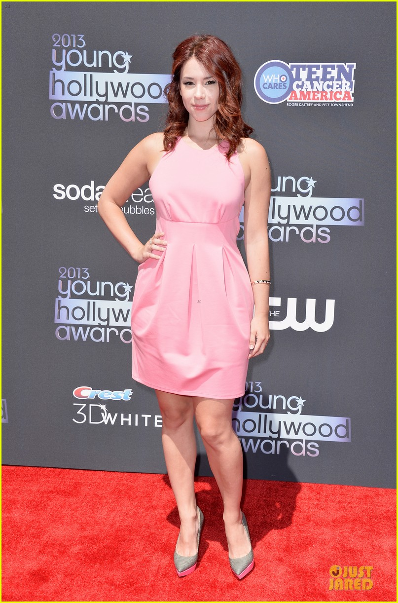 lucy hale young hollywood awards 2013 red carpet 052921718