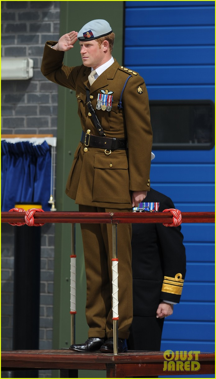prince harry opens royal marine center in devenport 052922112