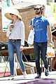 anne hathaway adam shulman sunday farmers market run 01
