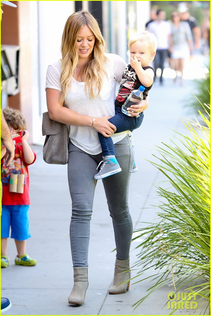 Hilary Duff kid