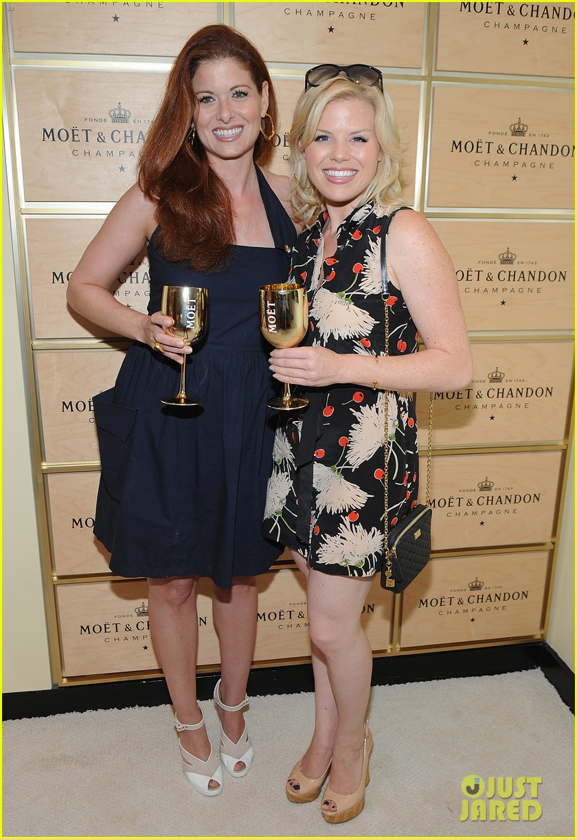 megan hilty debra messing smash reunion at us open 042941034