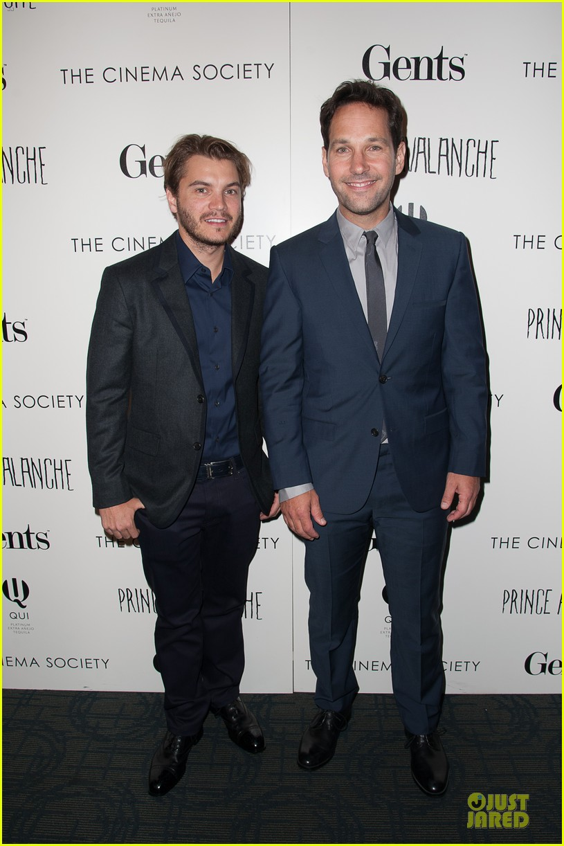 emile hirsch paul rudd prince avalanche nyc screening 032921270