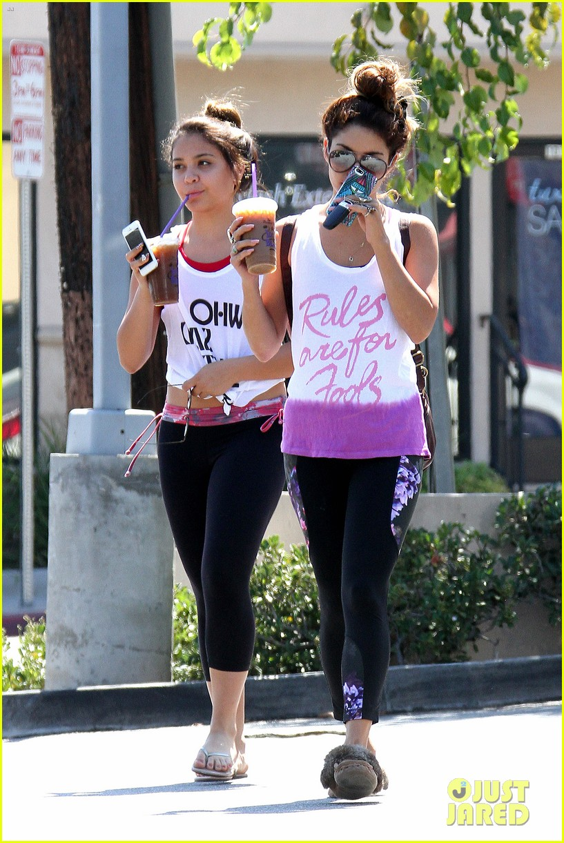 vanessa hudgens afternoon workout before fyf fest 2013 012938115