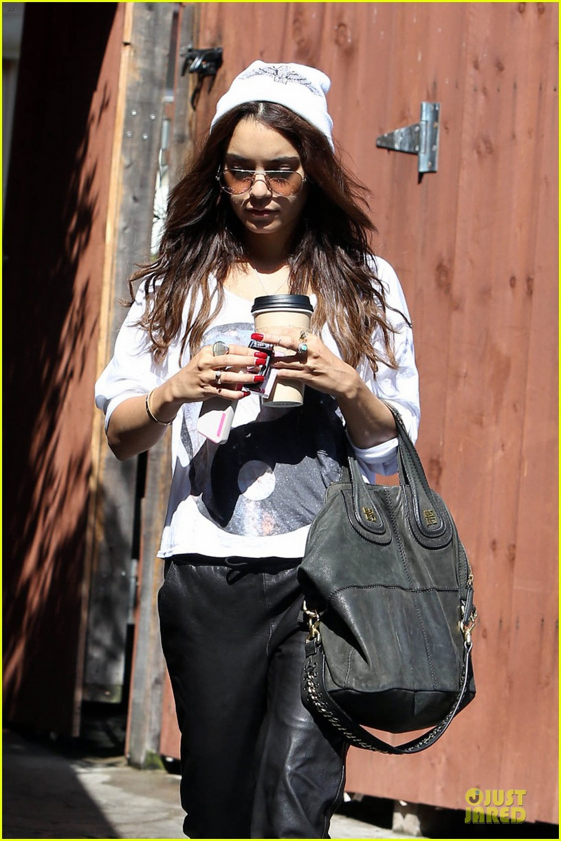 vanessa hudgens lighter hair after nine zero salon stop 042924644