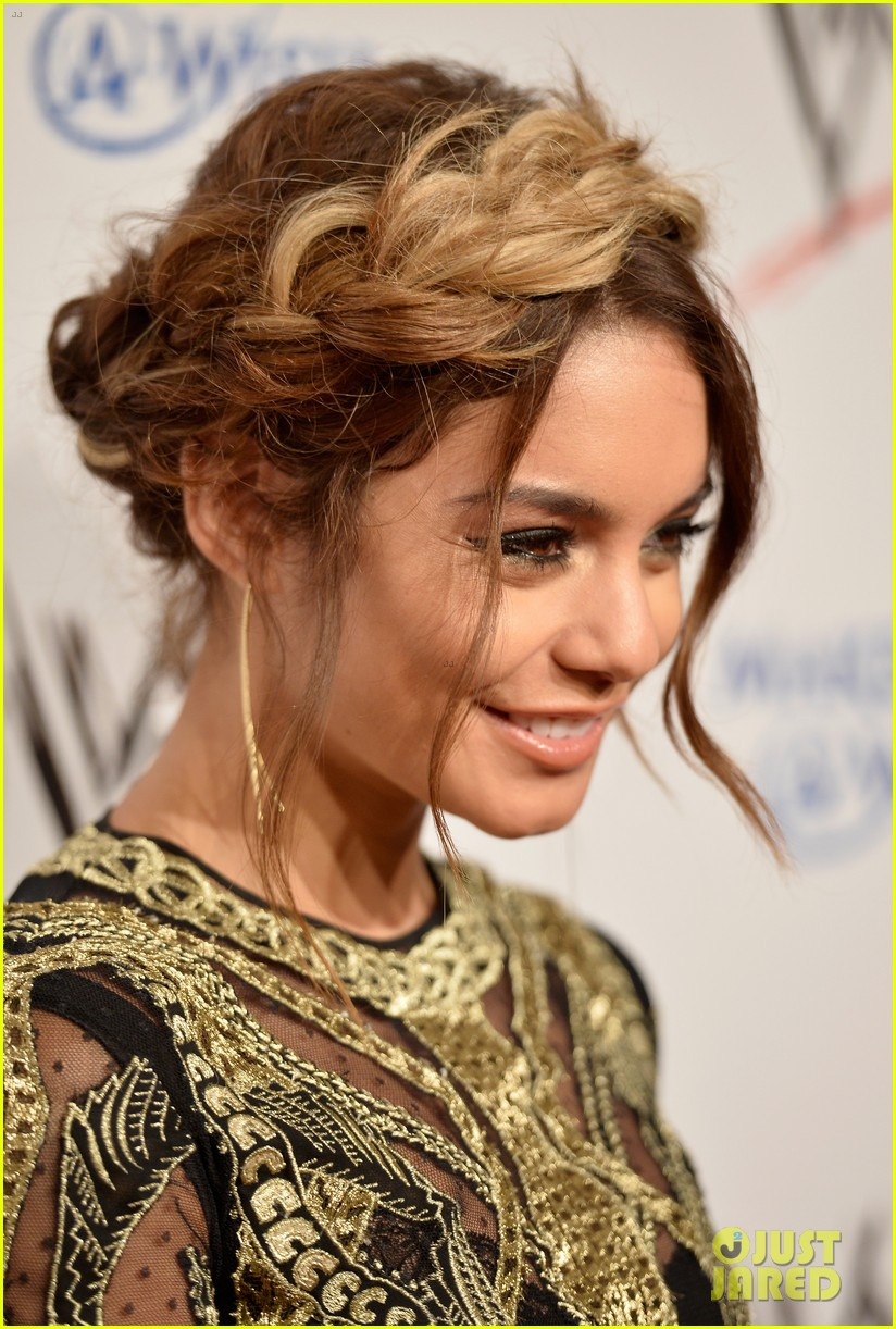 vanessa hudgens wwe superstars for hope event 042931159