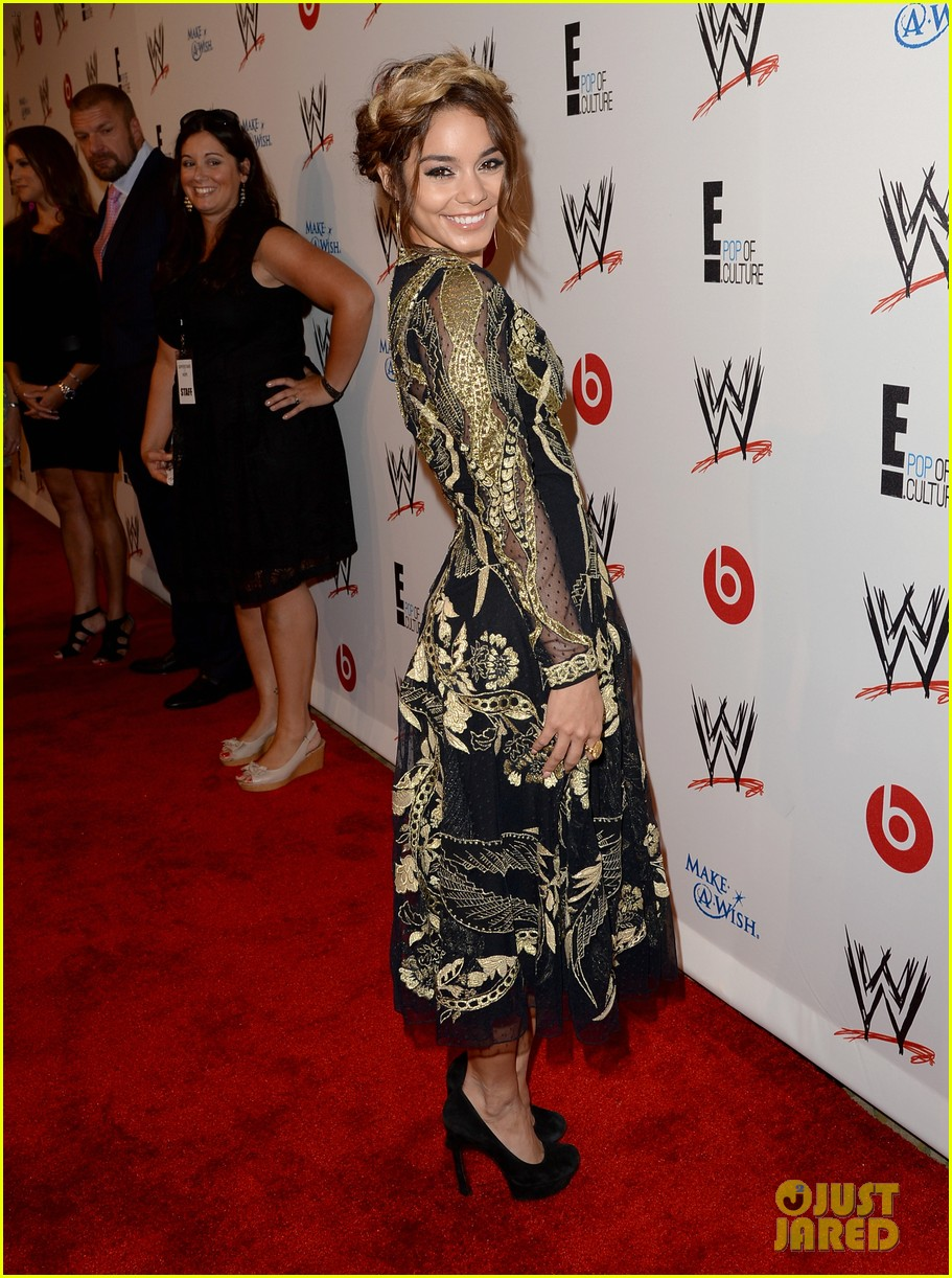 vanessa hudgens wwe superstars for hope event 15
