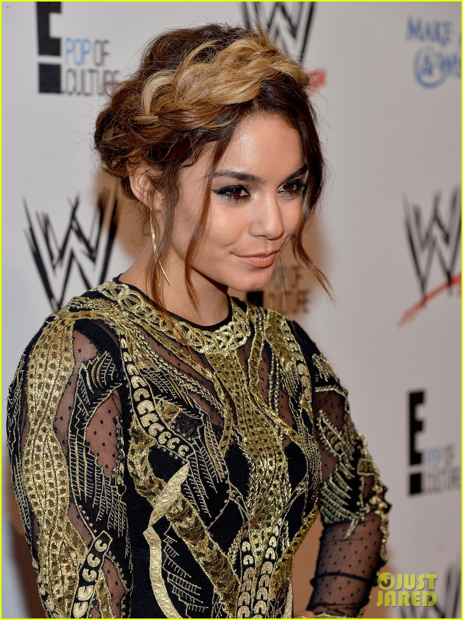 vanessa hudgens wwe superstars for hope event 192931174
