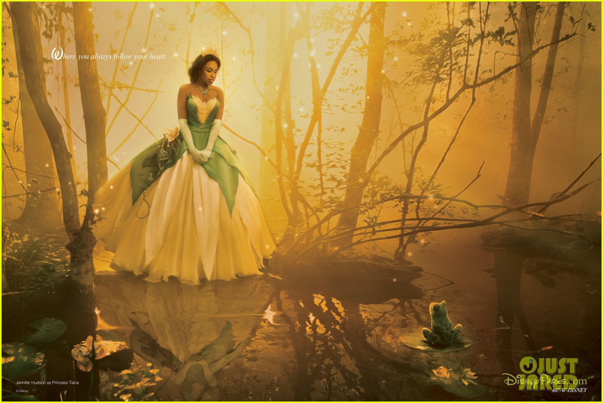 jennifer hudson princess tiana disney dream portrait 032935519