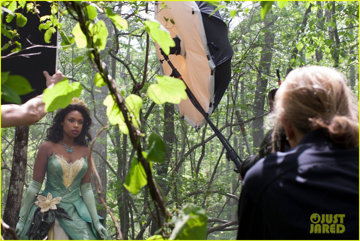jennifer hudson princess tiana disney dream portrait 062935522
