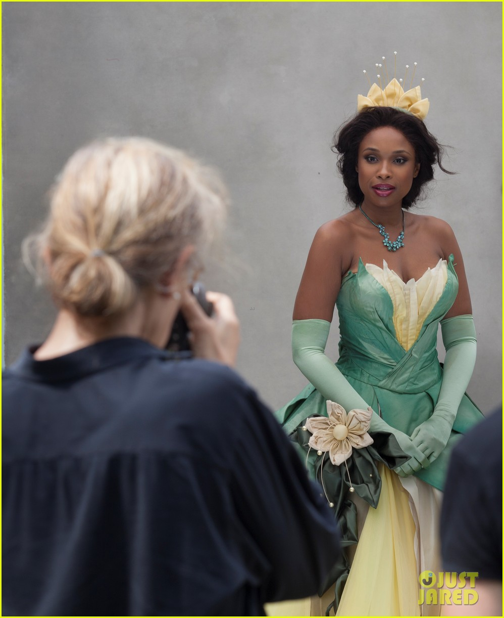 jennifer hudson princess tiana disney dream portrait 12