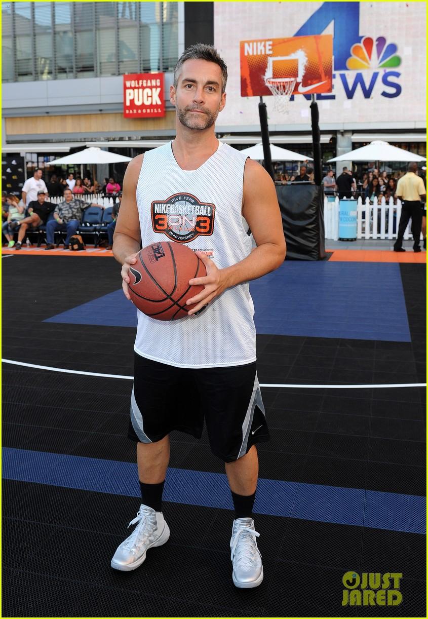 josh hutcherson james lafferty sbnn basketball game 172927181