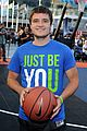 josh hutcherson james lafferty sbnn basketball game 09