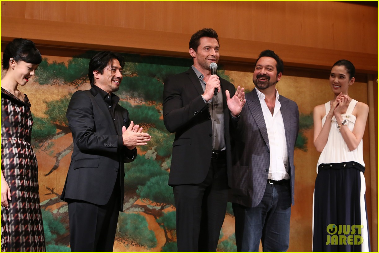 hugh jackman wolverine japan press conference 012939943