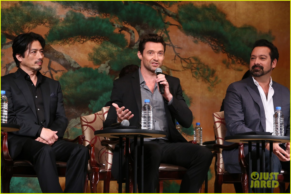 hugh jackman wolverine japan press conference 032939945