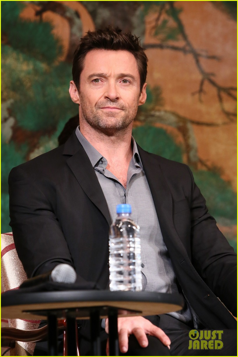 hugh jackman wolverine japan press conference 072939949