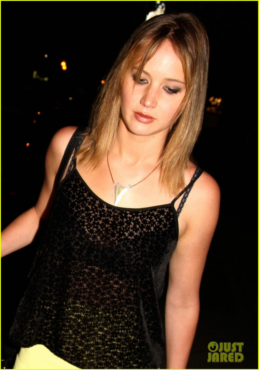 jennifer lawrence nicholas hoult arm in arm x men wrap party 052932983