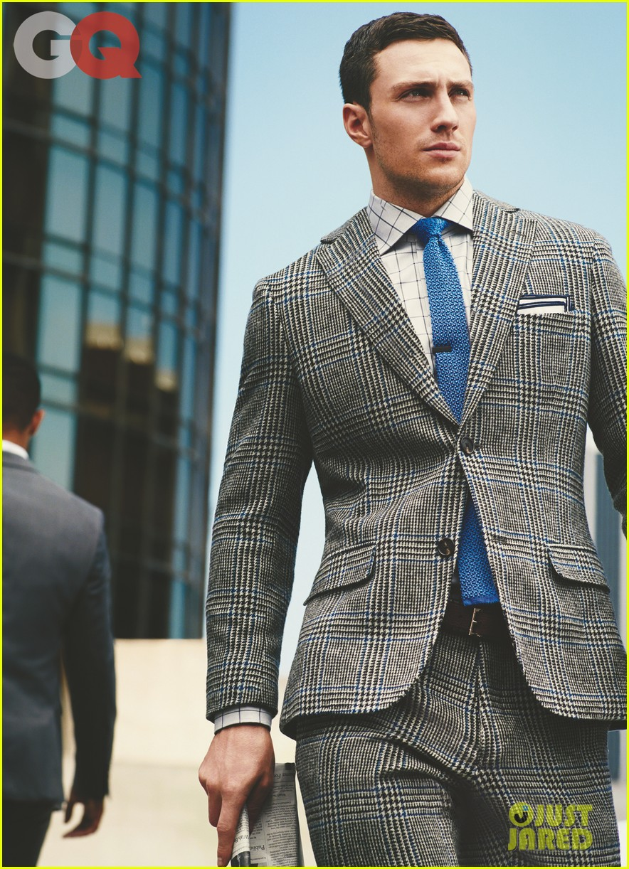 aaron taylor johnson models suits for gq 01