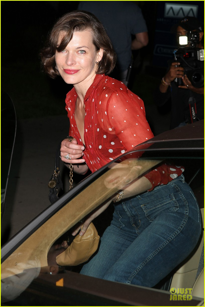 milla jovovich sheer red for paul ws anderson 022922512