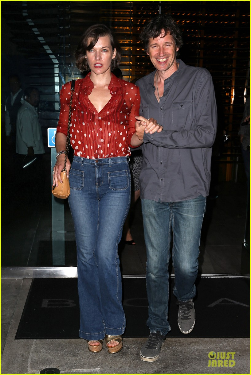 milla jovovich sheer red for paul ws anderson 032922513