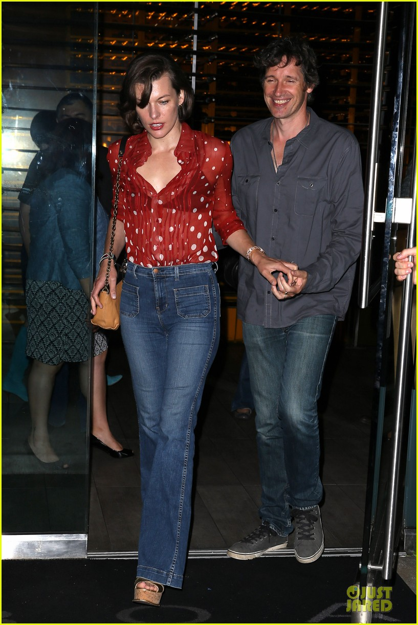 milla jovovich sheer red for paul ws anderson 052922515
