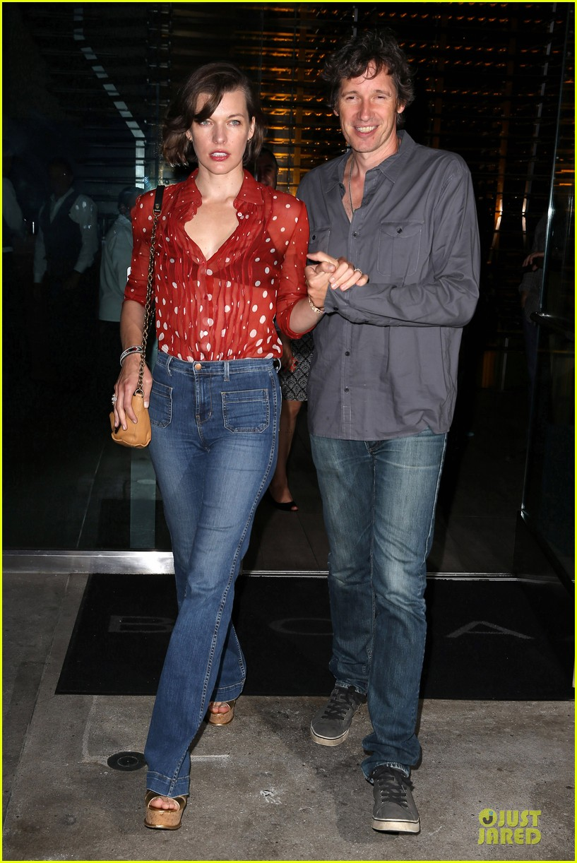 milla jovovich sheer red for paul ws anderson 082922518