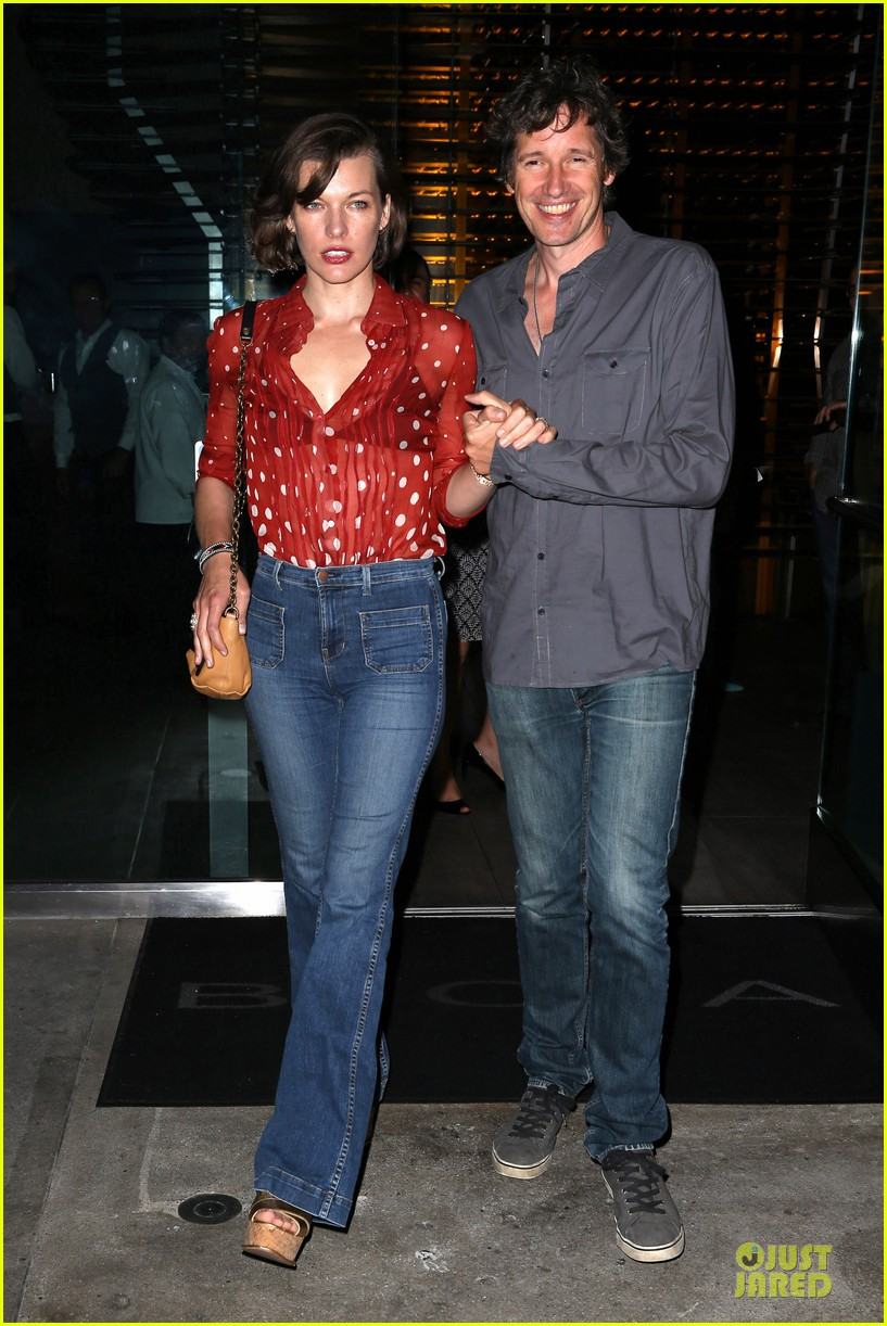 milla jovovich sheer red for paul ws anderson 092922519