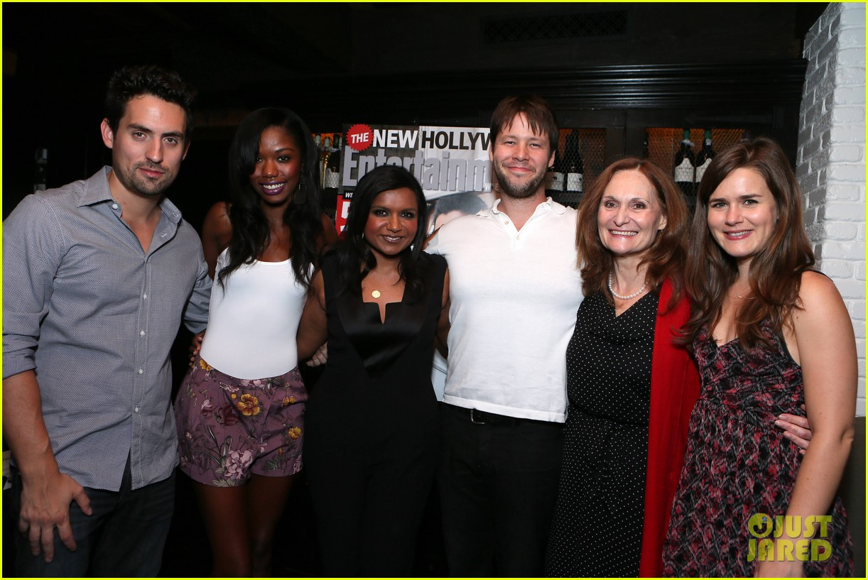 mindy kaling entertainment weekly new hollywood dinner 022926405