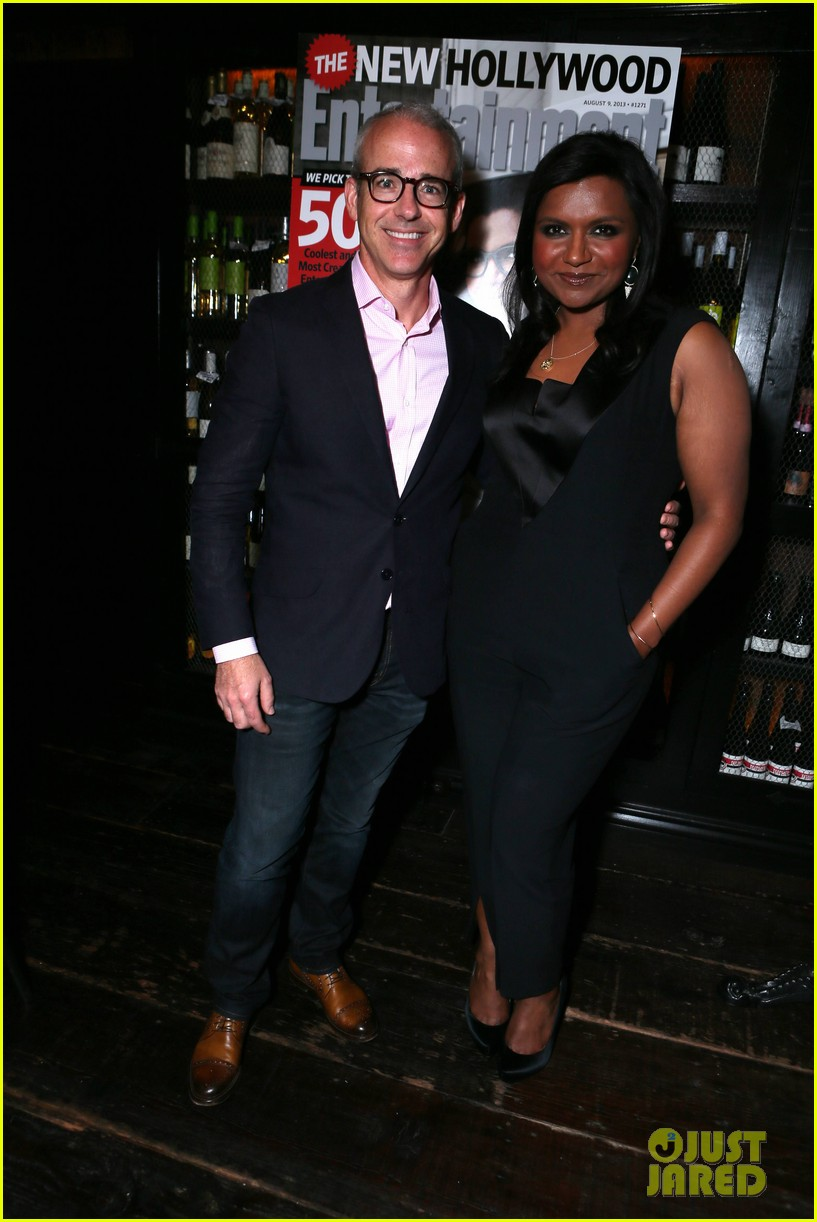 mindy kaling entertainment weekly new hollywood dinner 032926406