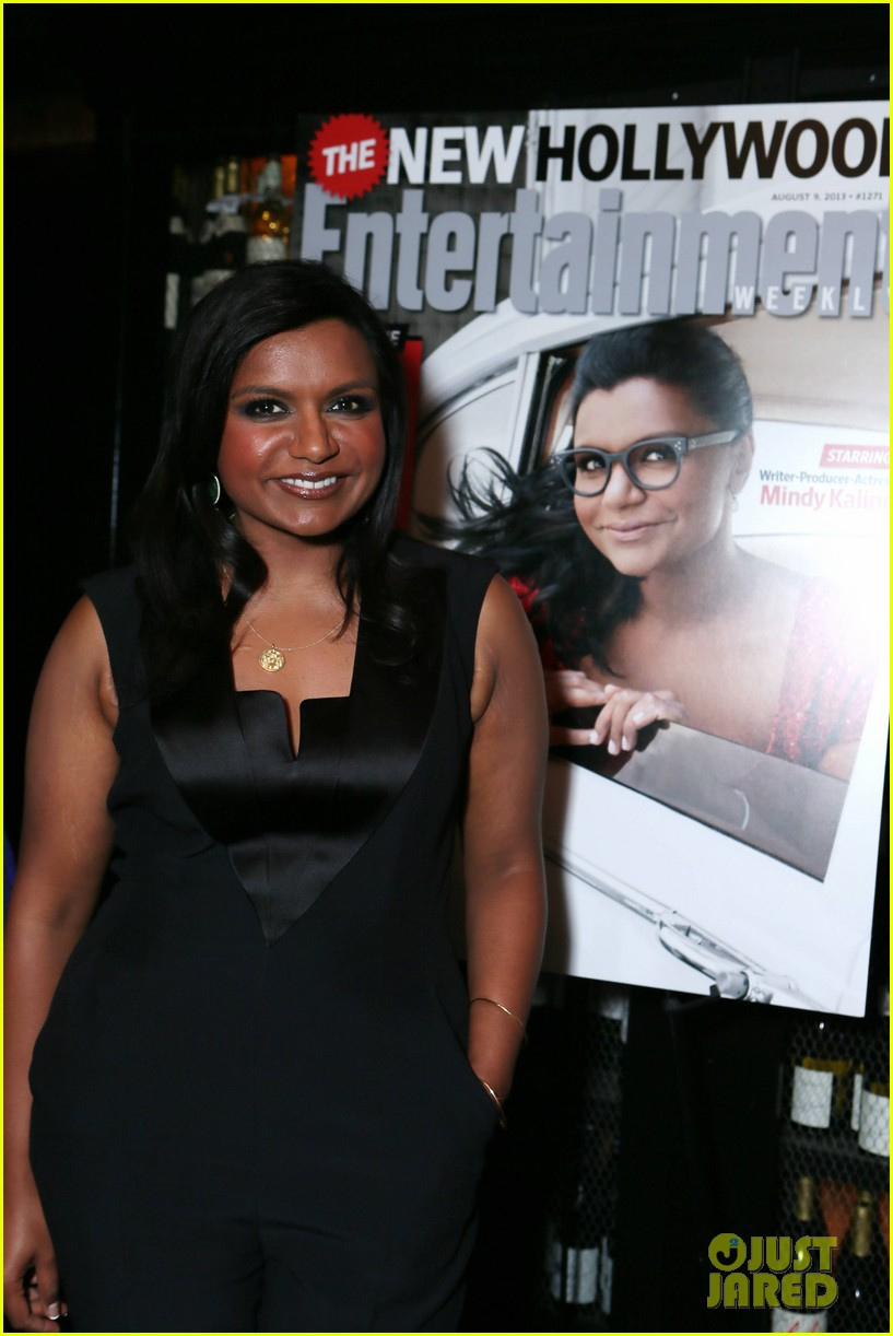 mindy kaling entertainment weekly new hollywood dinner 042926407