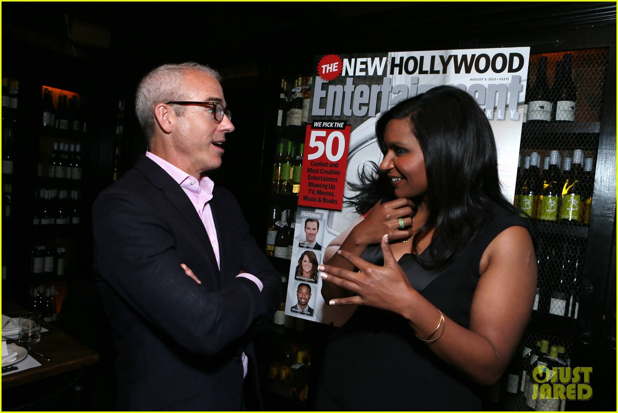 mindy kaling entertainment weekly new hollywood dinner 072926410