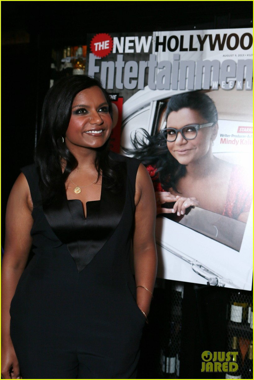 mindy kaling entertainment weekly new hollywood dinner 102926413