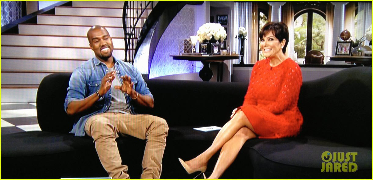 kanye west talks baby north west in emotional kris interview 032936184