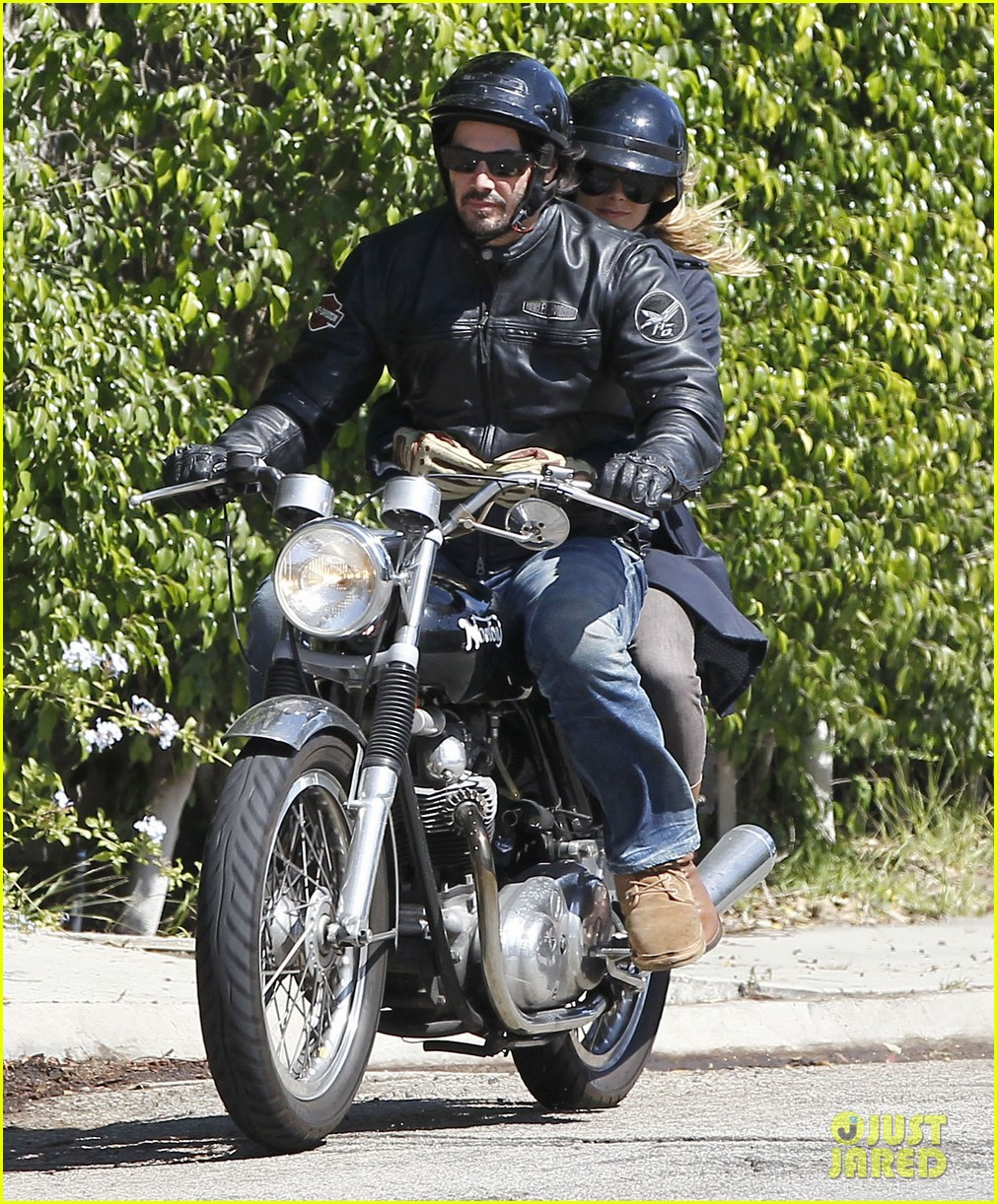 keanu reeves motorcycle ride with mystery blonde 072923312